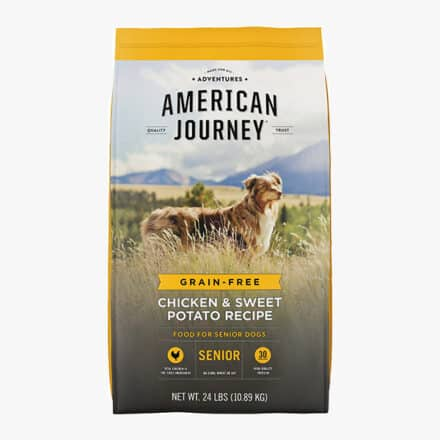 Grain Free Senior Dog Food American Journey